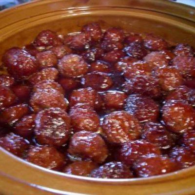 Crock Pot Sweet and Sour Ham Balls