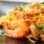 **Slow Cooker Shrimp Marinara