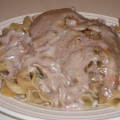 Slow Cooker Cream Cheese Chicken