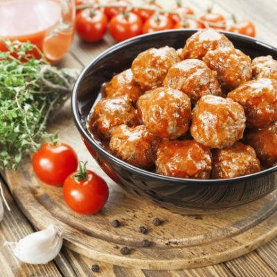 Slow Cooker Best Meatballs * *