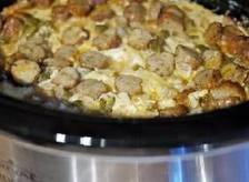 Slow Cooker Breakfast Casserole with Salsa