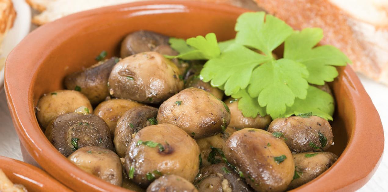 **Slow Cooker Mushrooms