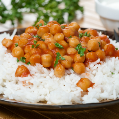 **Slow Cooker Chickpeas in Tomato Sauce