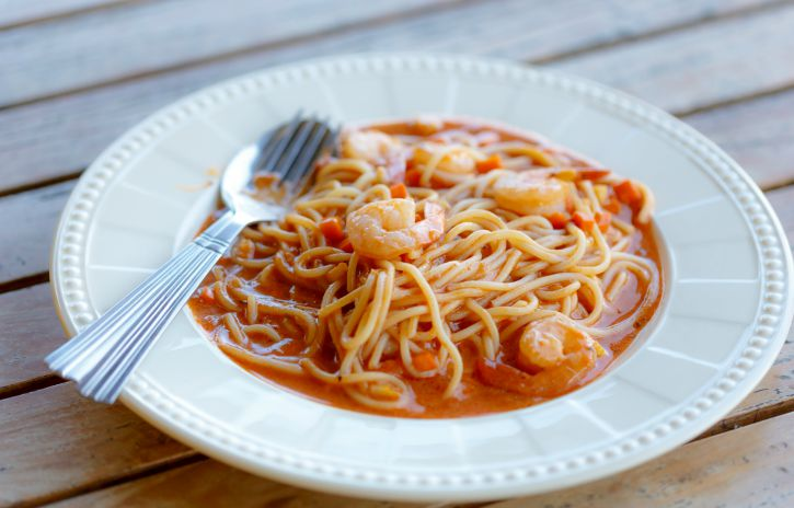 **Slow Cooker Shrimp Marinara