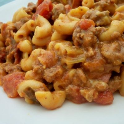 bacon cheeseburger mac