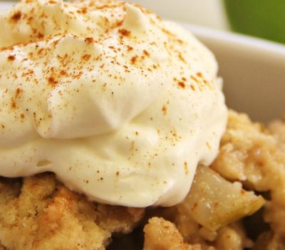 SLow Cooker Apple Pecan Crisp