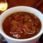 Crock Pot Hamburger and Lentil Soup