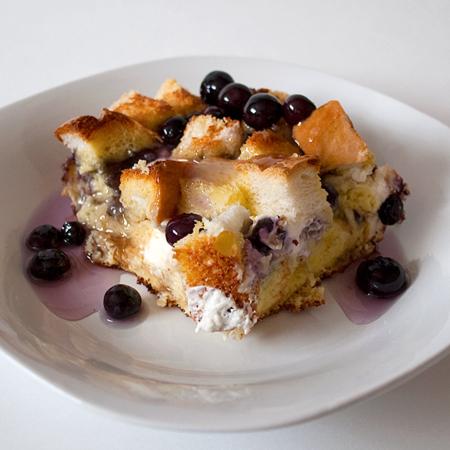 Crock Pot Blueberry French Toast