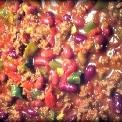 Totally Fabulous Crock Pot Chili