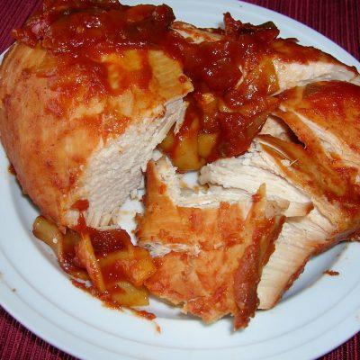 Crock Pot Manwich Chicken