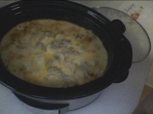 Crock Pot Potato Sausage Casserole