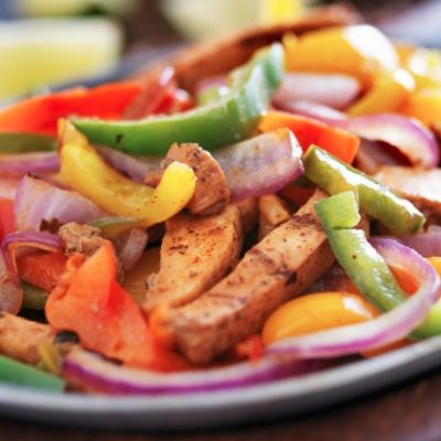 Slow Cooker Chicken Fajitas **