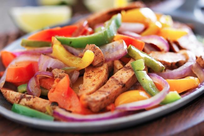 Slow Cooker Chicken Fajitas **