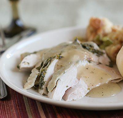 Crock Pot Turkey and Herbs