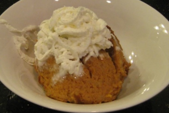 Slow Cooker Pumpkin Pie Pudding **