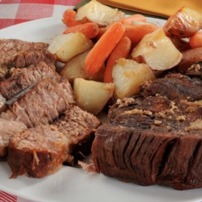 Slow Cooker EASY Pot Roast **