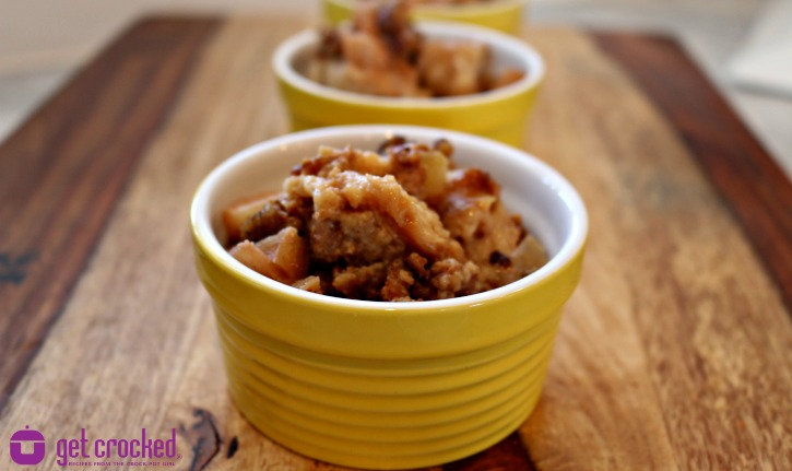 *** Slow Cooker breakfast bread pudding