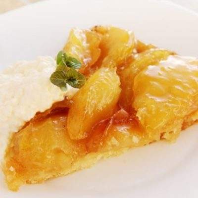 **Slow Cooker Apple Caramel Pie