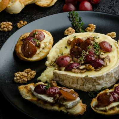 **Slow Cooker Baked Brie