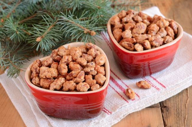 Slow Cooker Candied Almonds **