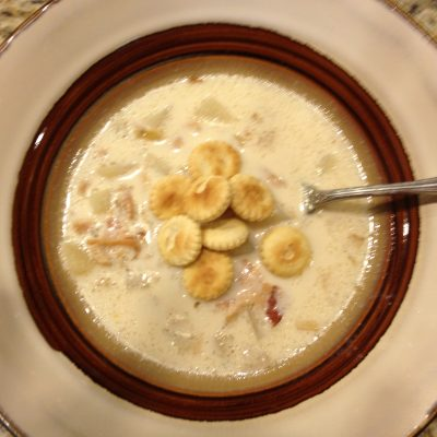 Crock Pot Clam Chowder * *