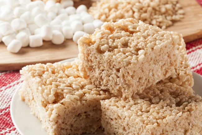 **Slow Cooker Rice Krispie Treats