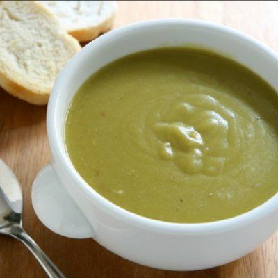 Slow Cooker Split Pea Soup **