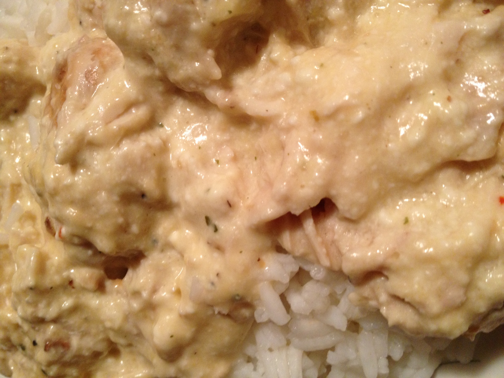 Crock Pot Creamy Italian Chicken and Rice