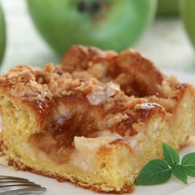 **Slow Cooker Apple Pie Coffee Cake