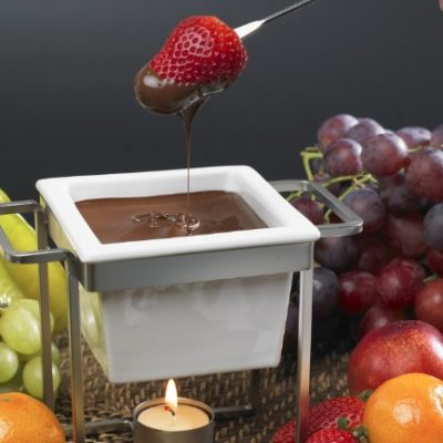 Slow Cooker Chocolate Fondue **