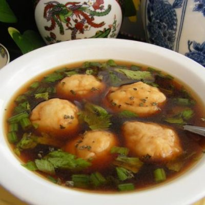 Crock Pot Beef and Dumpling Soup