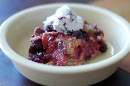 Crock Pot Mixed Berry Crumble