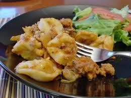 Crock Pot Tortillini Lasagna Casserole