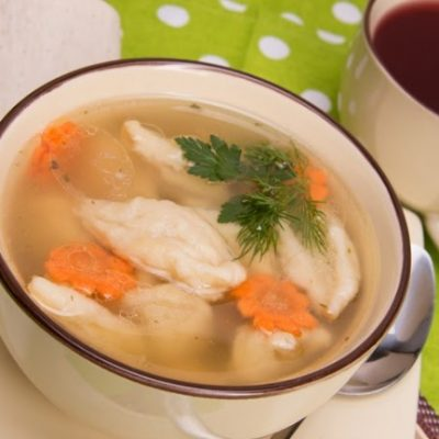 **Slow Cooker Dumpling Soup