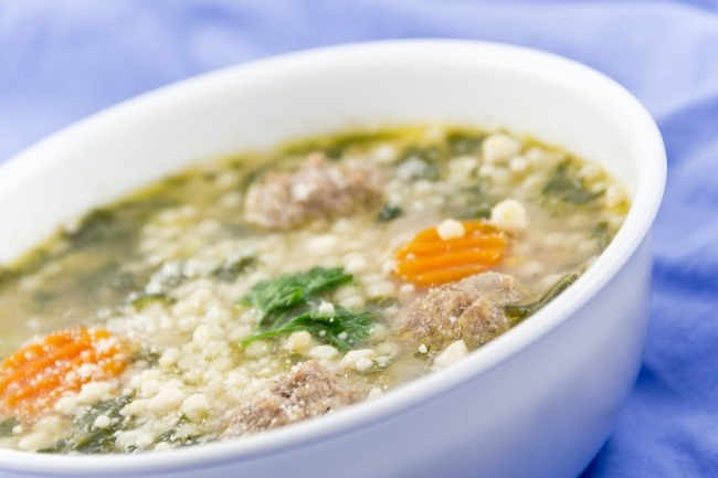 **Slow Cooker Italian Wedding Soup