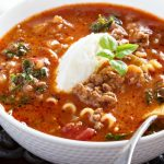 **Slow Cooker Lasagna Soup