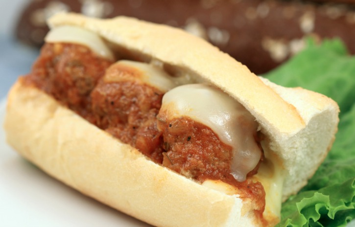 **Slow Cooker Meatball Sandwich