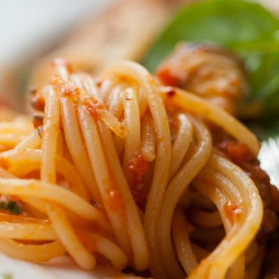 **Slow Cooker Pasta and Eggplant Sauce