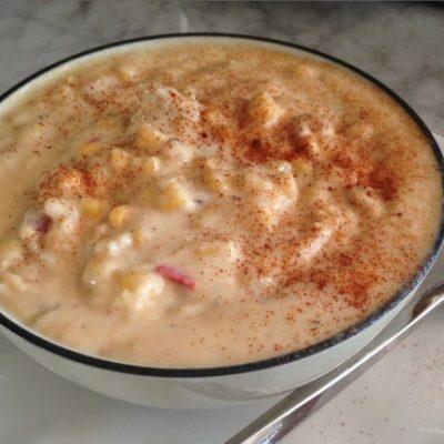 **Slow Cooker Potato Corn Chowder