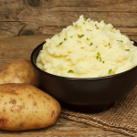 **Slow Cooker Rustic Garlic Mashed Potatoes