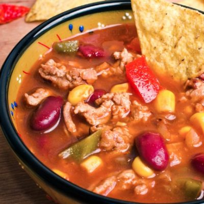 **Slow Cooker Taco Soup