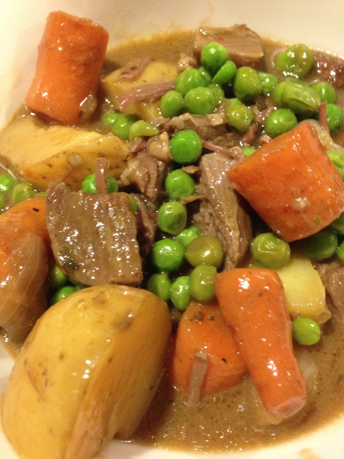 Crock Pot All Day Beef Stew