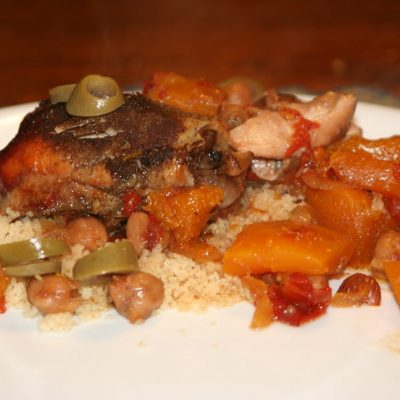 Crock Pot Chicken Tagine