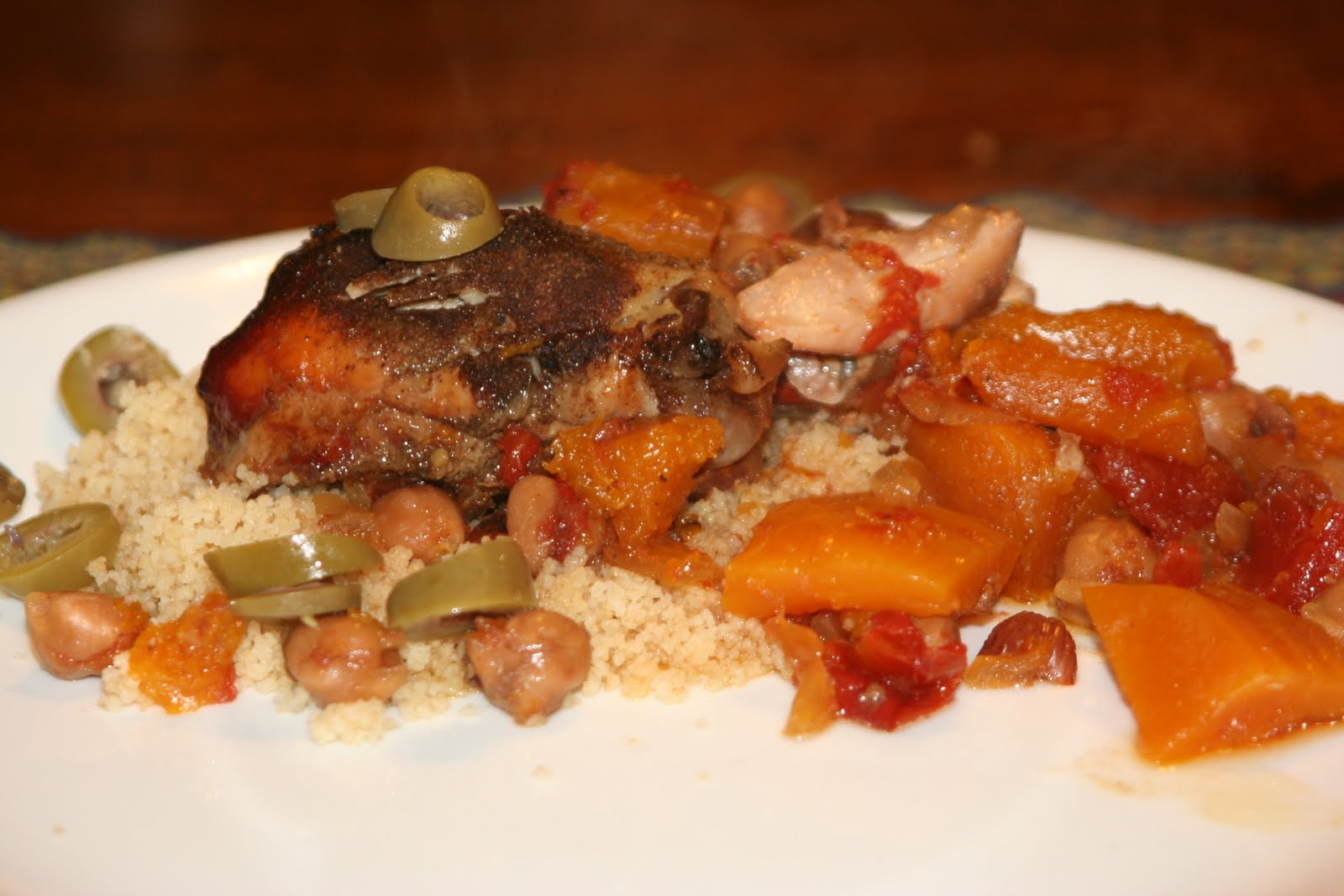 Crock Pot Chicken Tagine