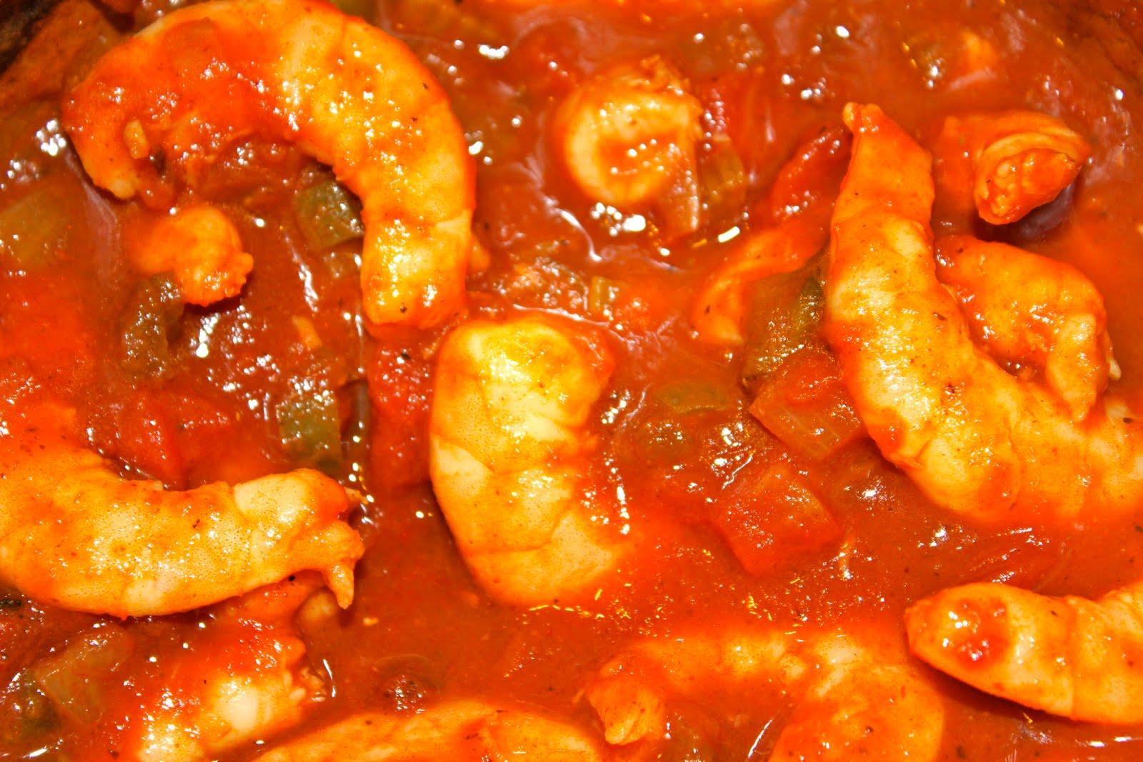 Crock Pot Shrimp Creole