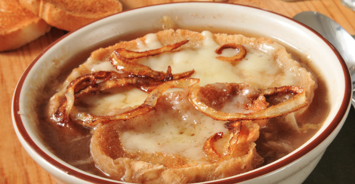 **Slow Cooker French Onion Soup