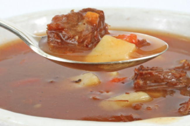 Pot Roast Slow Cooker Soup