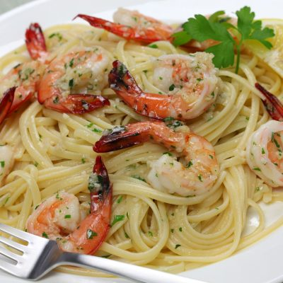 **Slow Cooker Shrimp Scampi