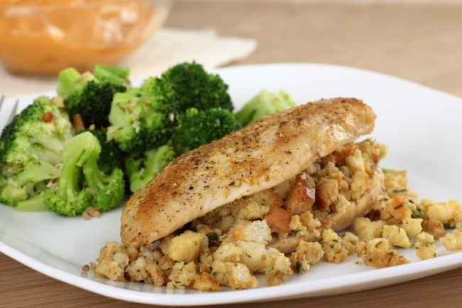 **Slow Cooker Chicken and Stuffing