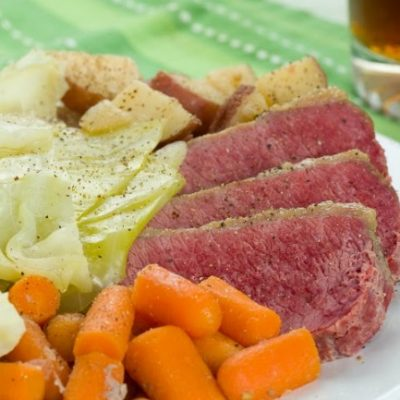 **Slow Cooker Corned Beef and Cabbage